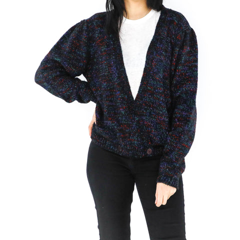 Cluster Open Front Sweater