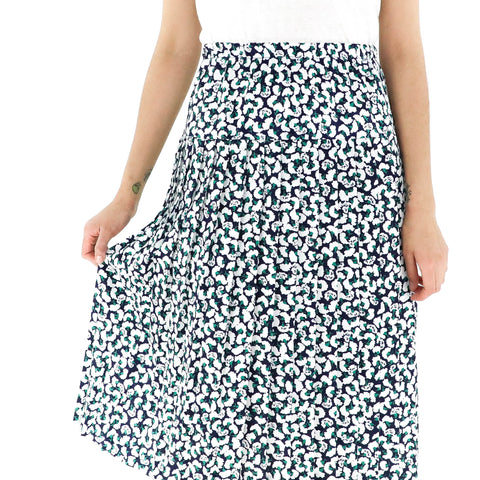 White Carnations Skirt