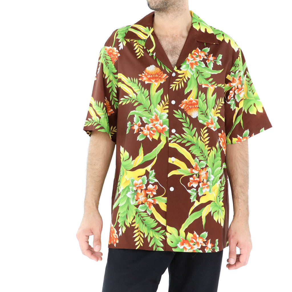 Brown Hawaiian Shirt