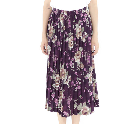 Purple & Violet Skirt