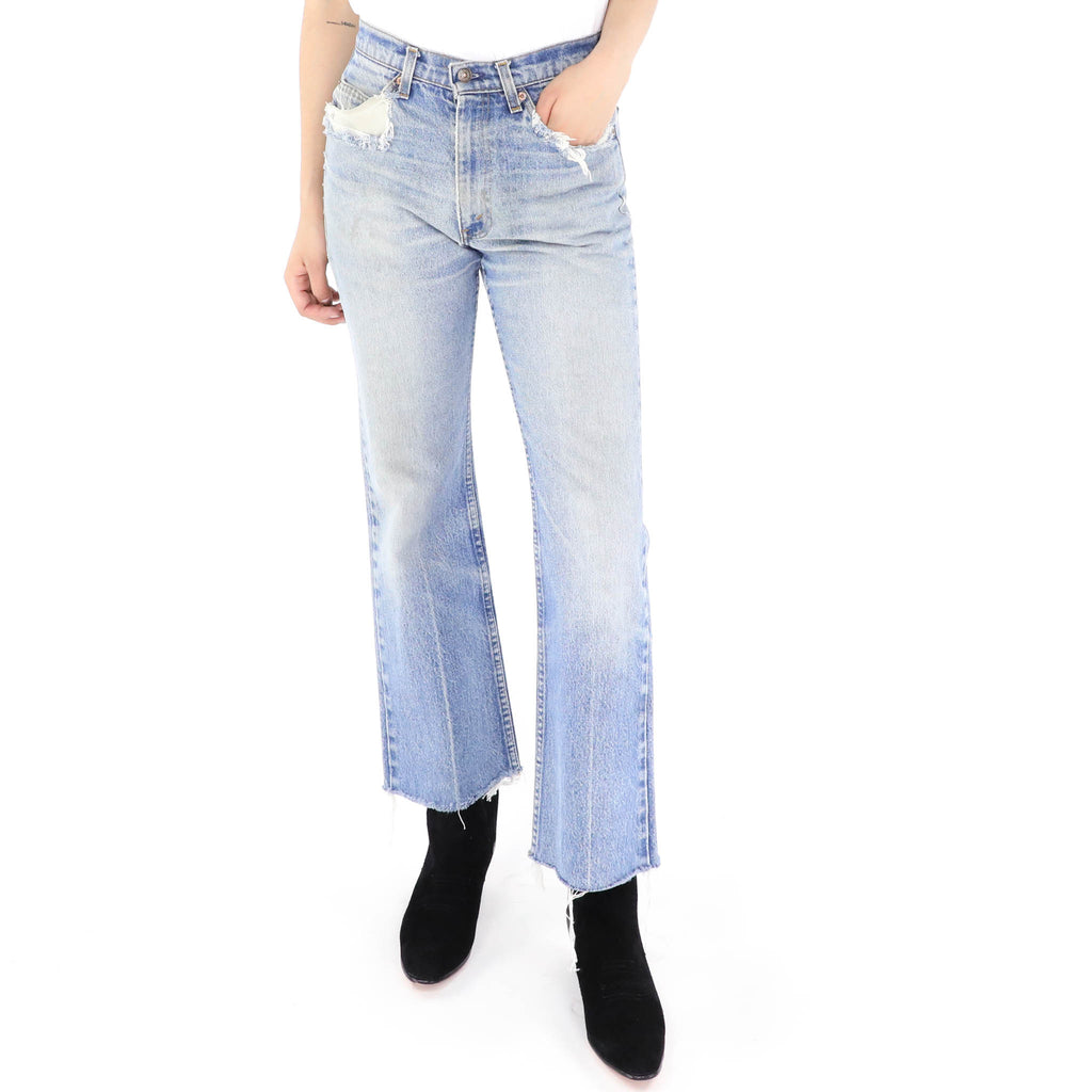 Levi´s Distressed Flare Jeans