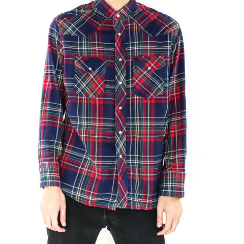 Peacock Berry Crimson Tartan Shirt