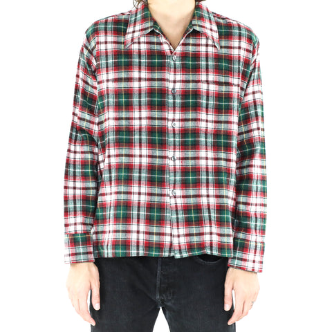 Castleton Green & Red Plaid Flannel