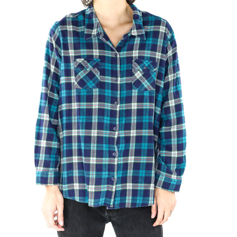 Pacific Blue Plaid Shirt