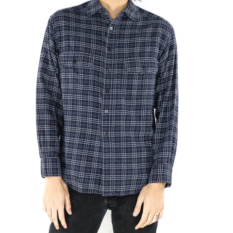 Gunmetal Plaid Shirt