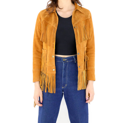 June Fringe Jacket