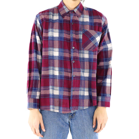 Boysenberry Blue Flannel