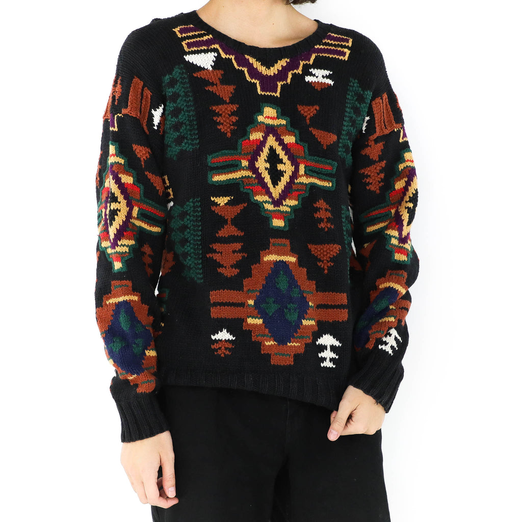 Ginger Aztec Sweater