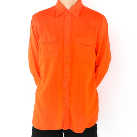 Tangerine Long Sleeve Shirt