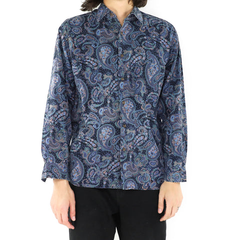 Midnight Paisley Shirt