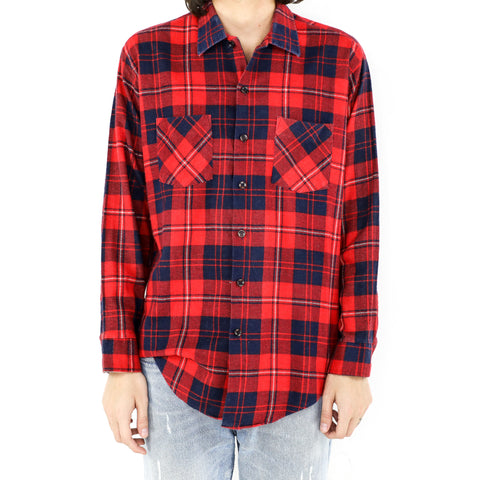 Delft & Crimson Flannel
