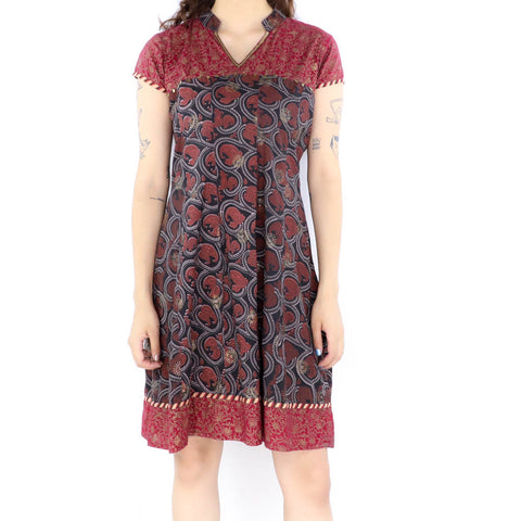 Paisley Blood Dress