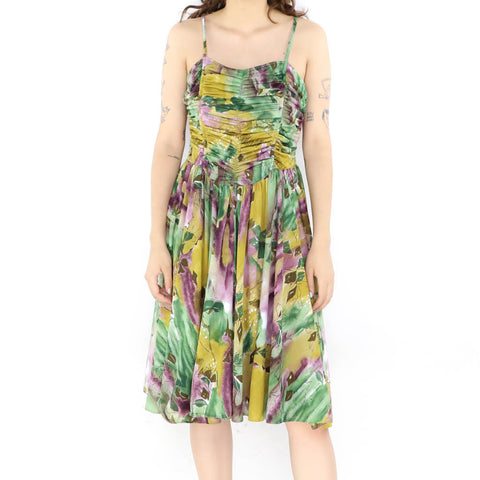 Green Orchid Dress