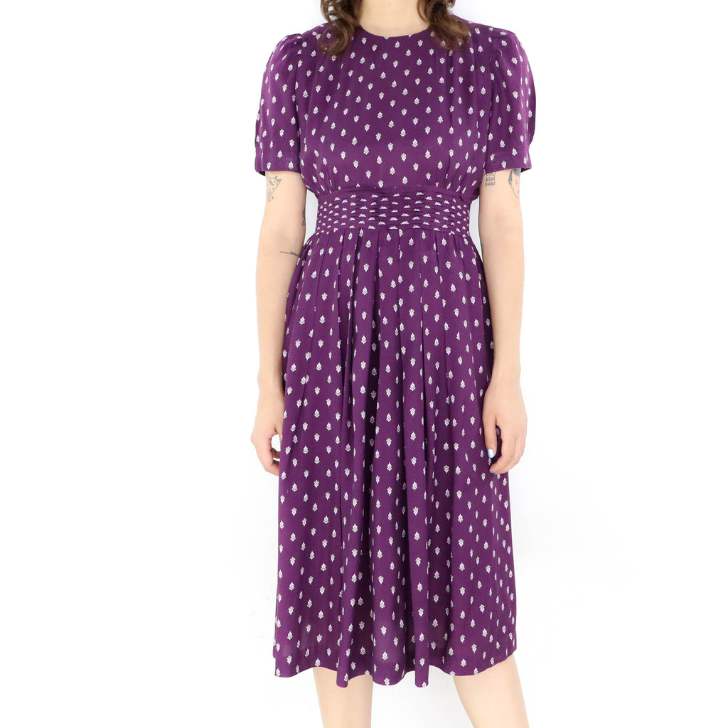 Sandy Grape Dress