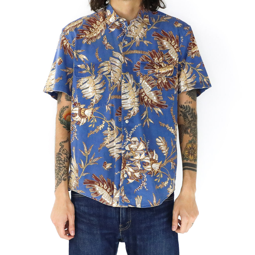 Maroon Leaves Shirt