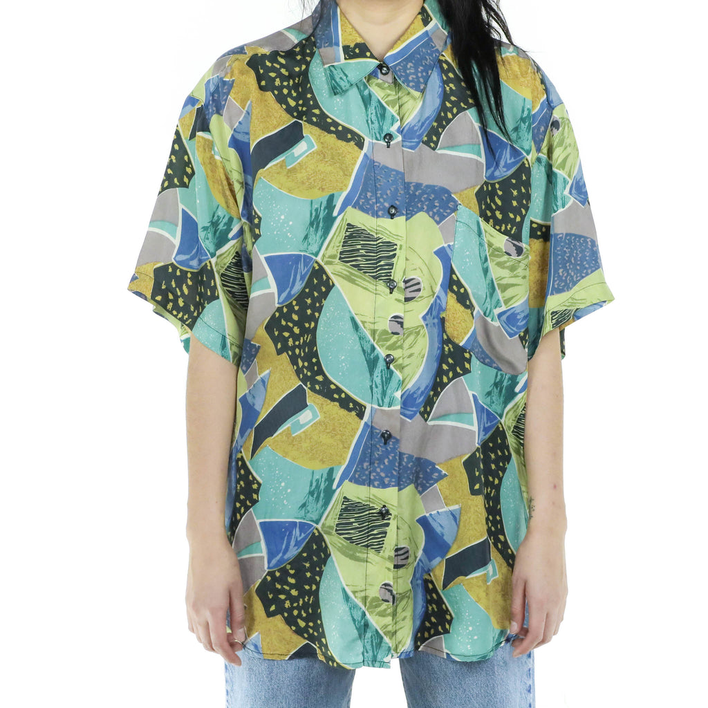 Tropical Alex Blouse