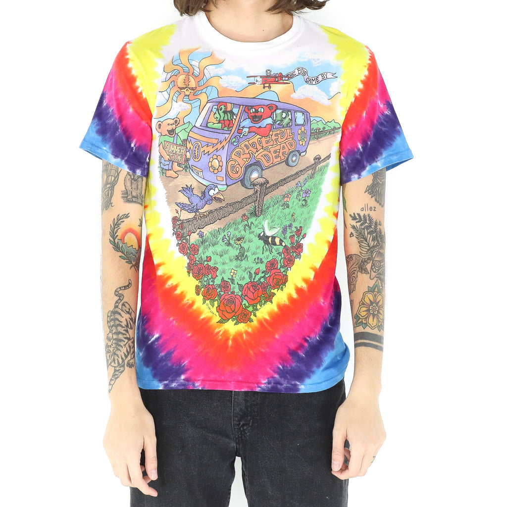 Grateful Dead Summer Tour Tie Dye T-Shirt