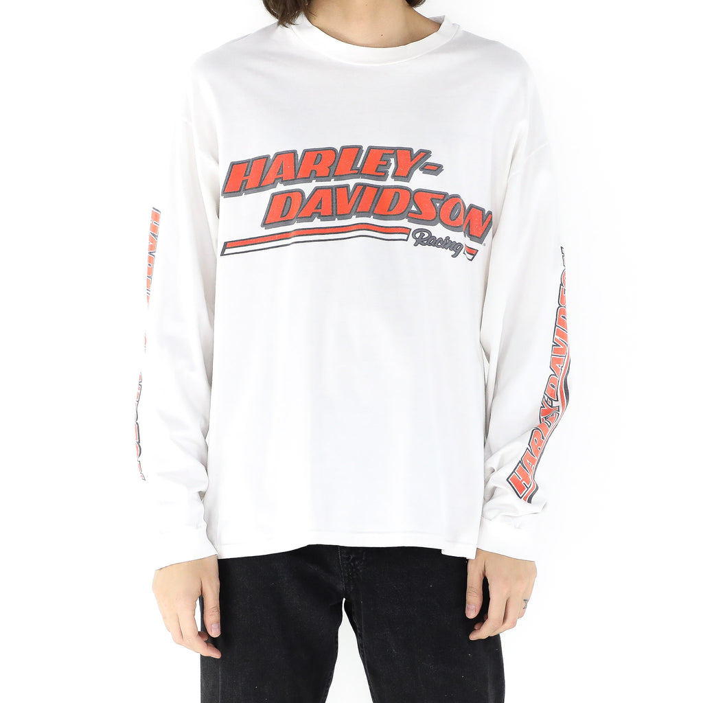 Harley Davidson Racing Long Sleeve T-shirt