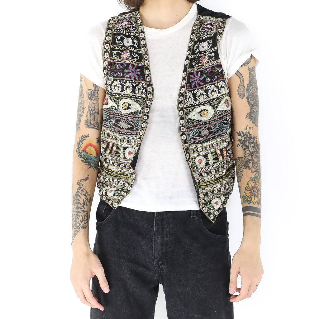 Ethnic Embroidered Vest