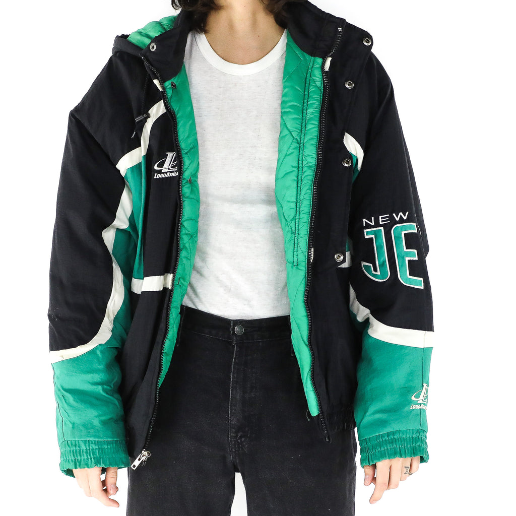 New Jersey Jets Hooded Bomber