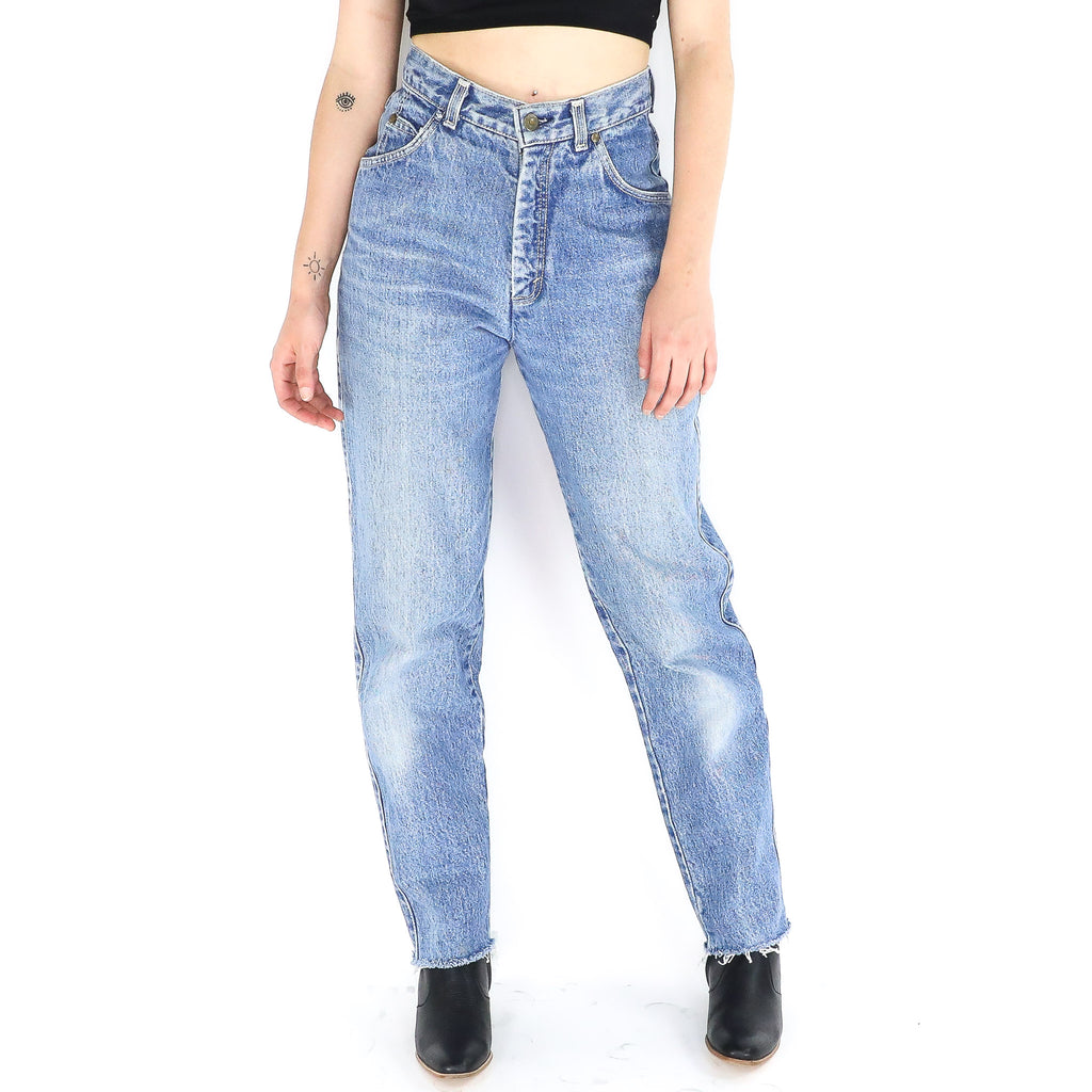Acid Wash High-Waisted Levi's