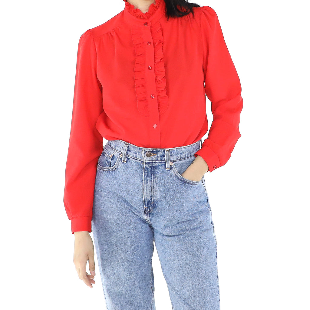 Ruffle Ruby Blouse