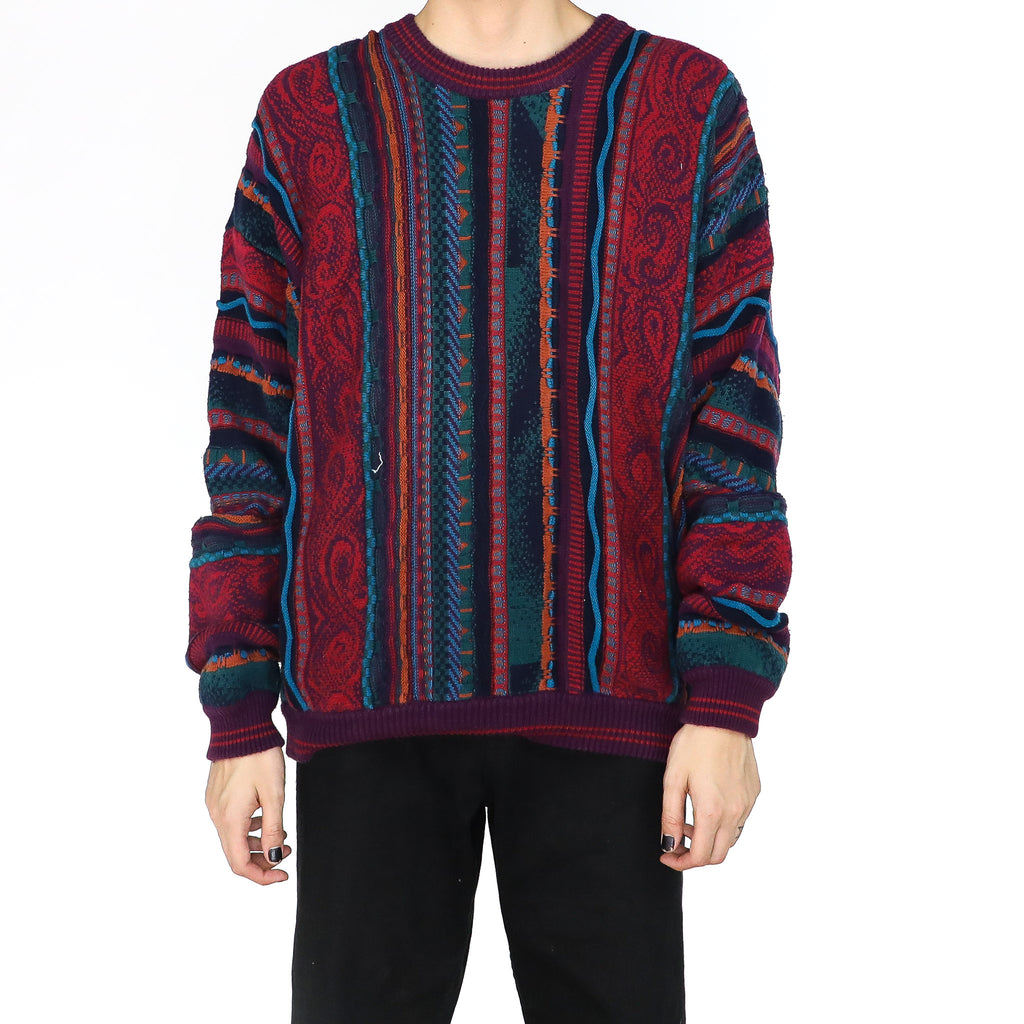 Basil Merlot Sweater