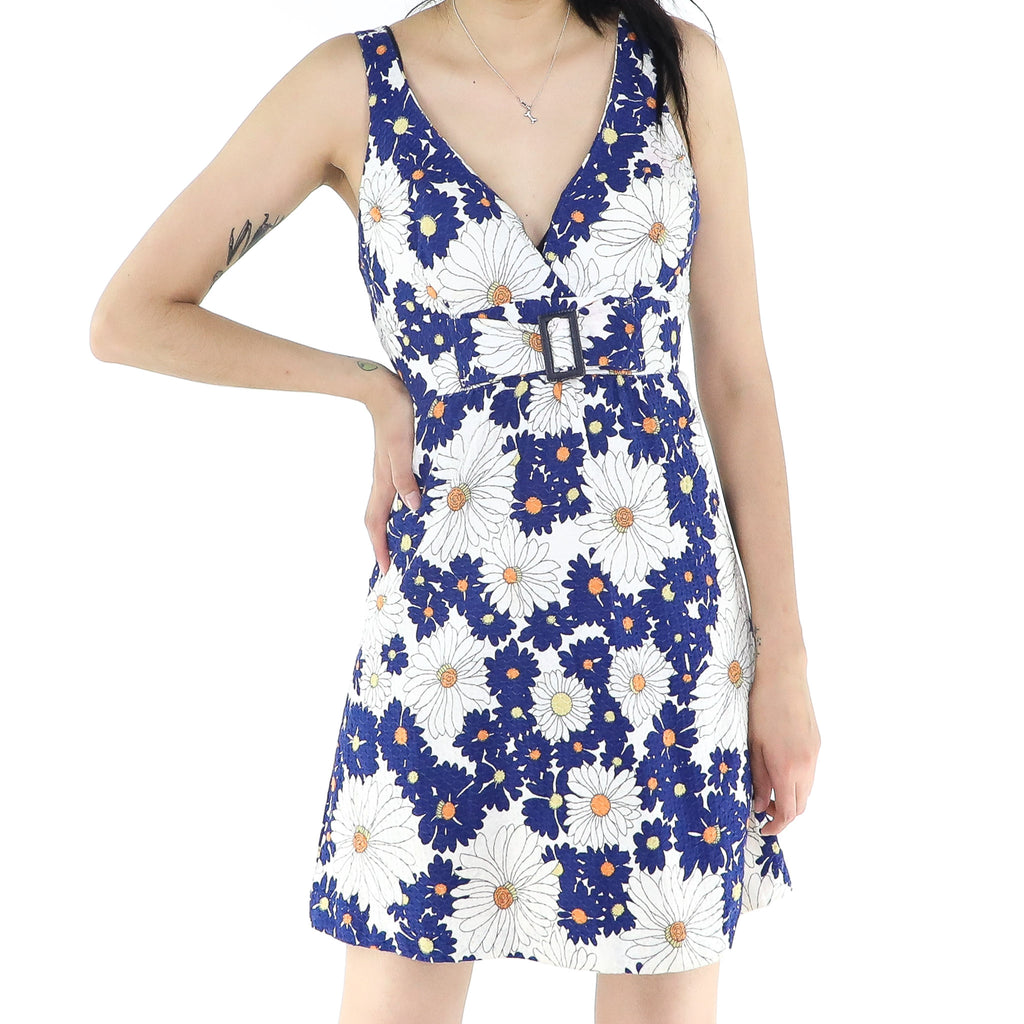 Flowered Riviera Dress
