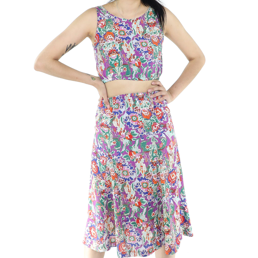 Abstract Tropical Two Piece Set