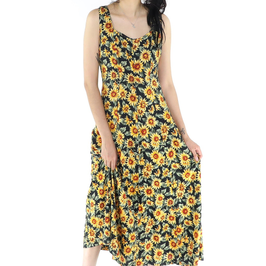Bohemian Sunflower Dress