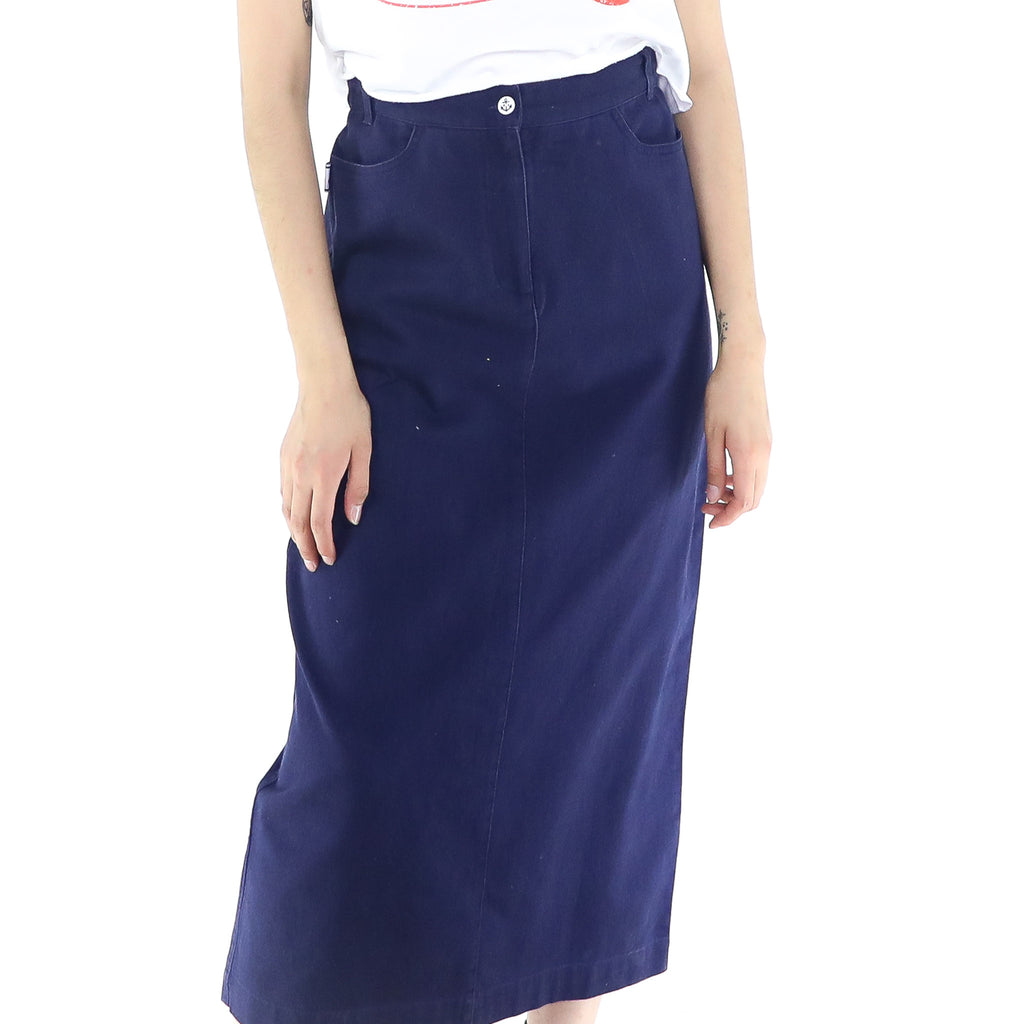 Nautical Maxi Skirt