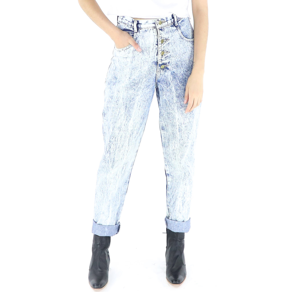 Washed Out Denim Jeans