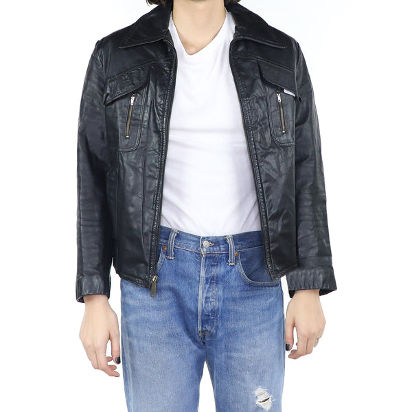 Vintage Flight Leather Jacket