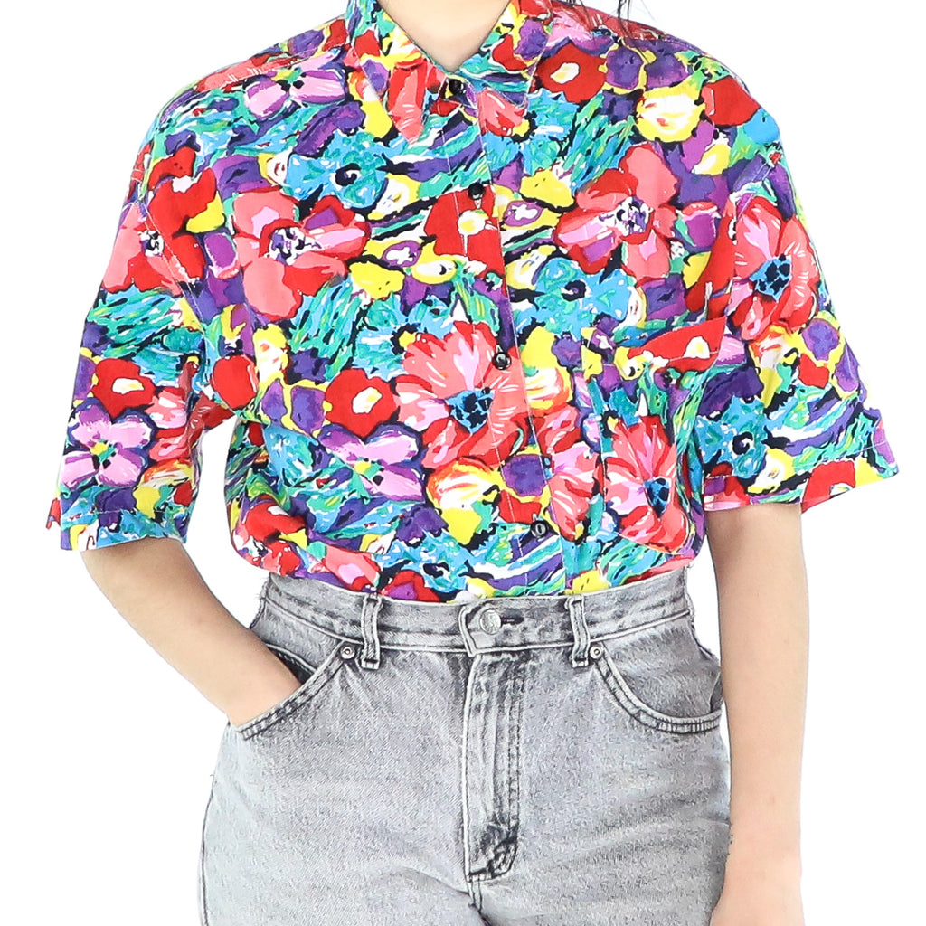 Jelly Flowers Blouse