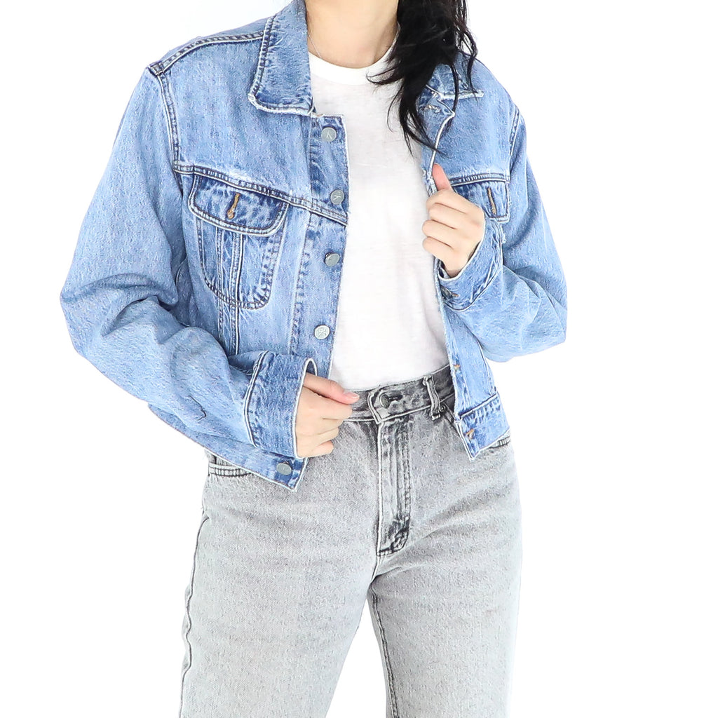 Light Blue CK Denim Jacket