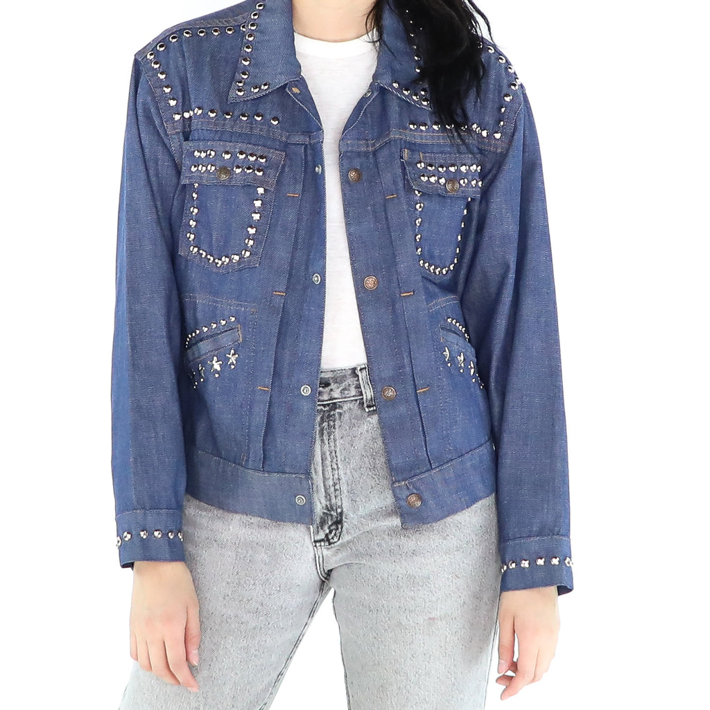 Stars & Studs Denim Jacket