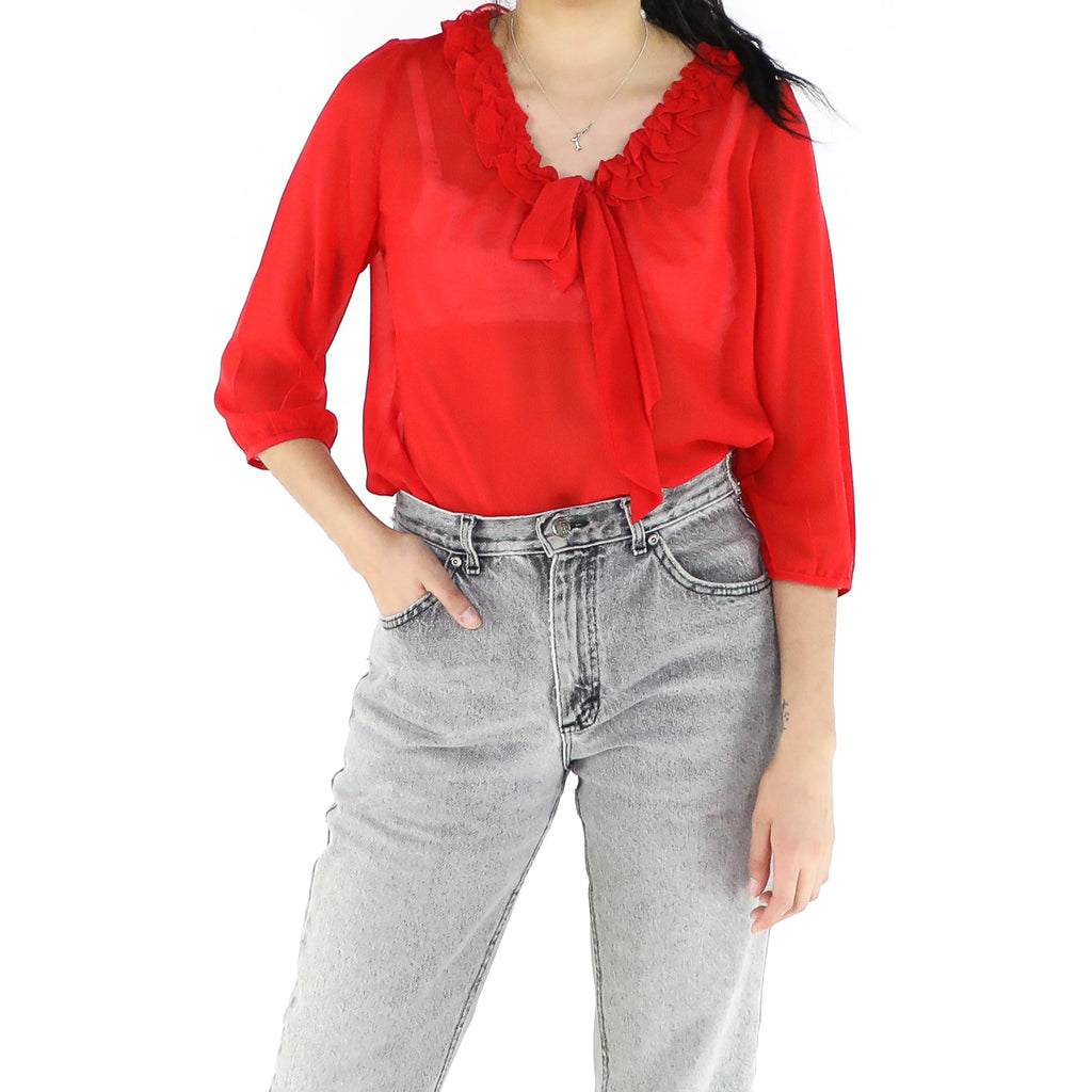 Rose Red Blouse