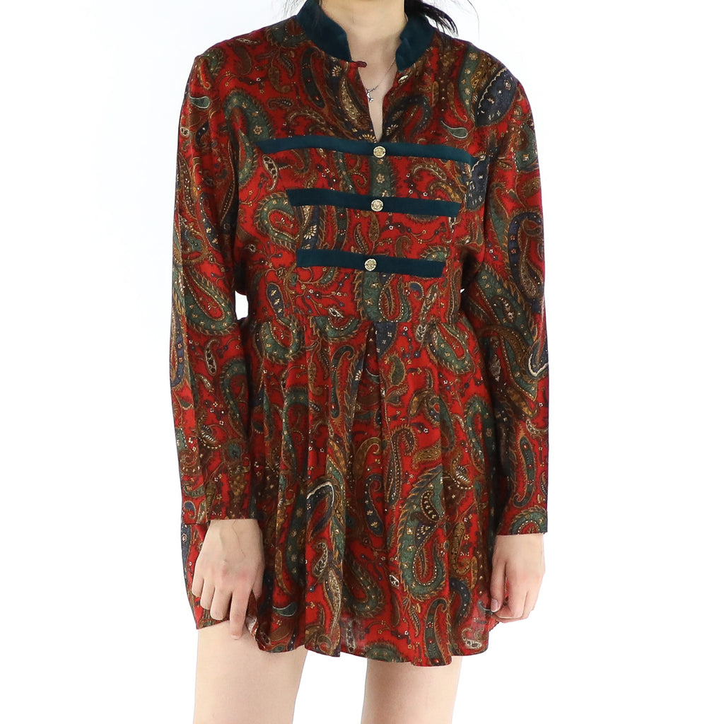 Imperial Paisley Dress