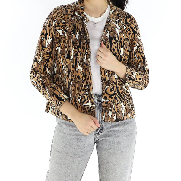 Abstract Cheetah Jacket