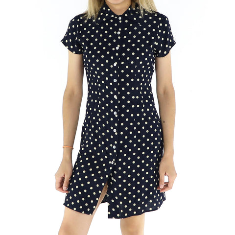 White Dots Dress