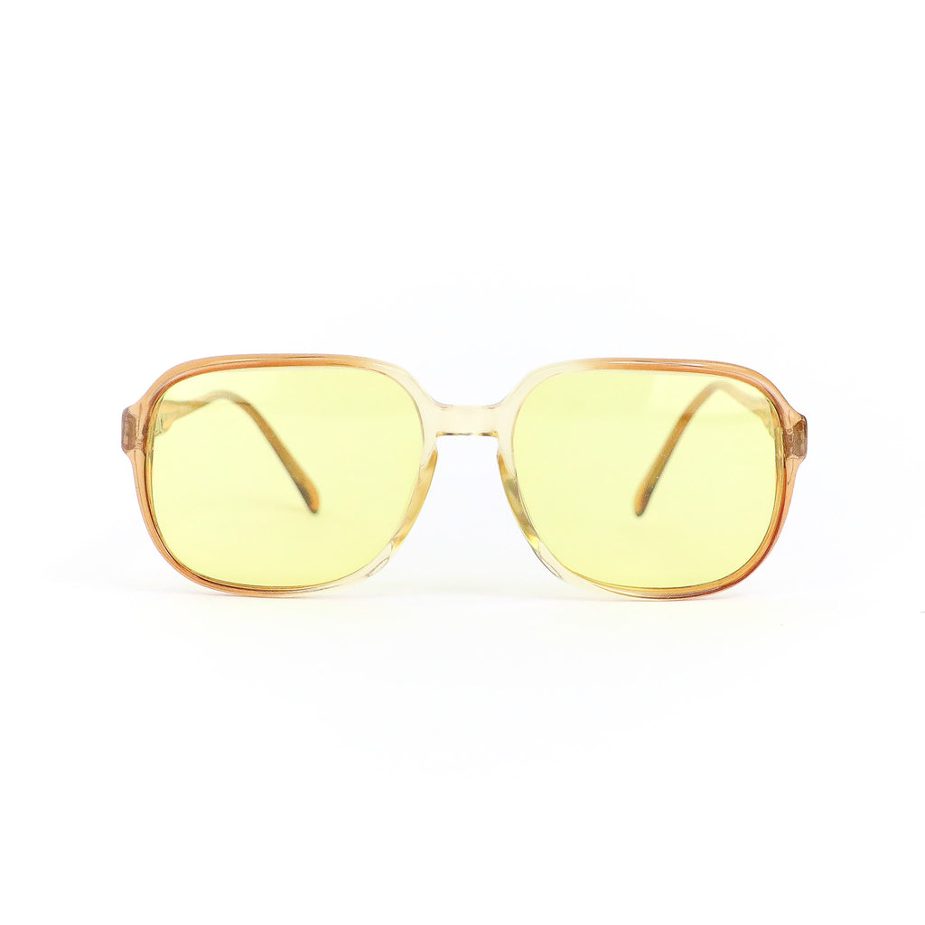 Amber Rounded Sunglasses
