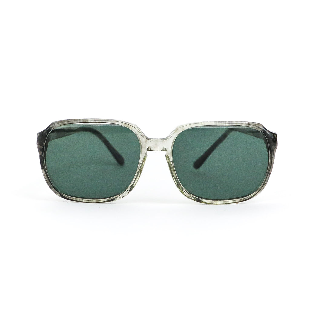 Clear Gemstone Sunglasses