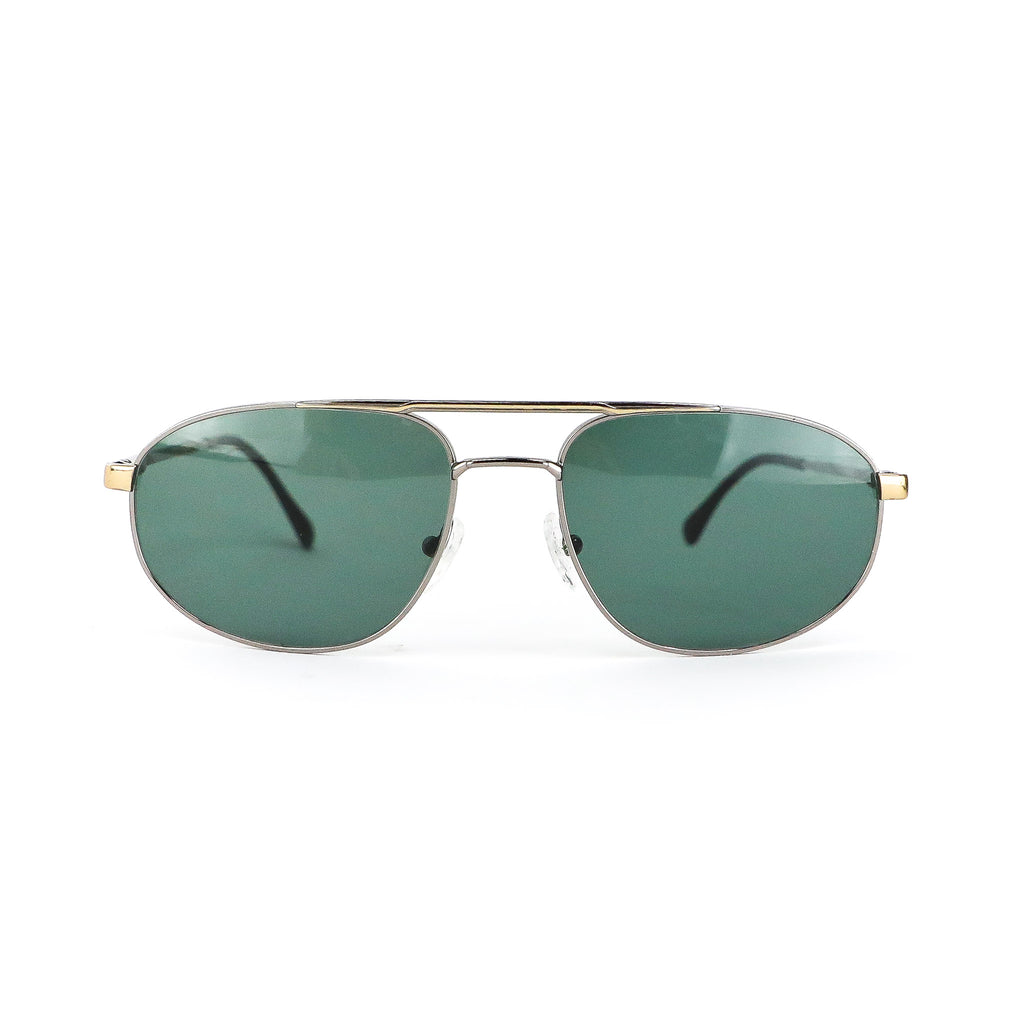 Golden Oval Vintage Sunglasses