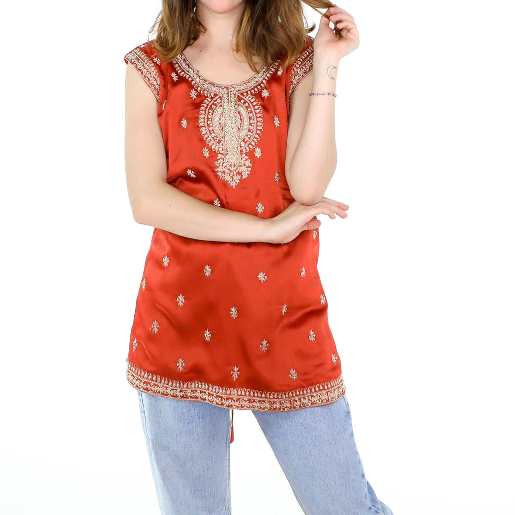 Scarlet Gold Tunic