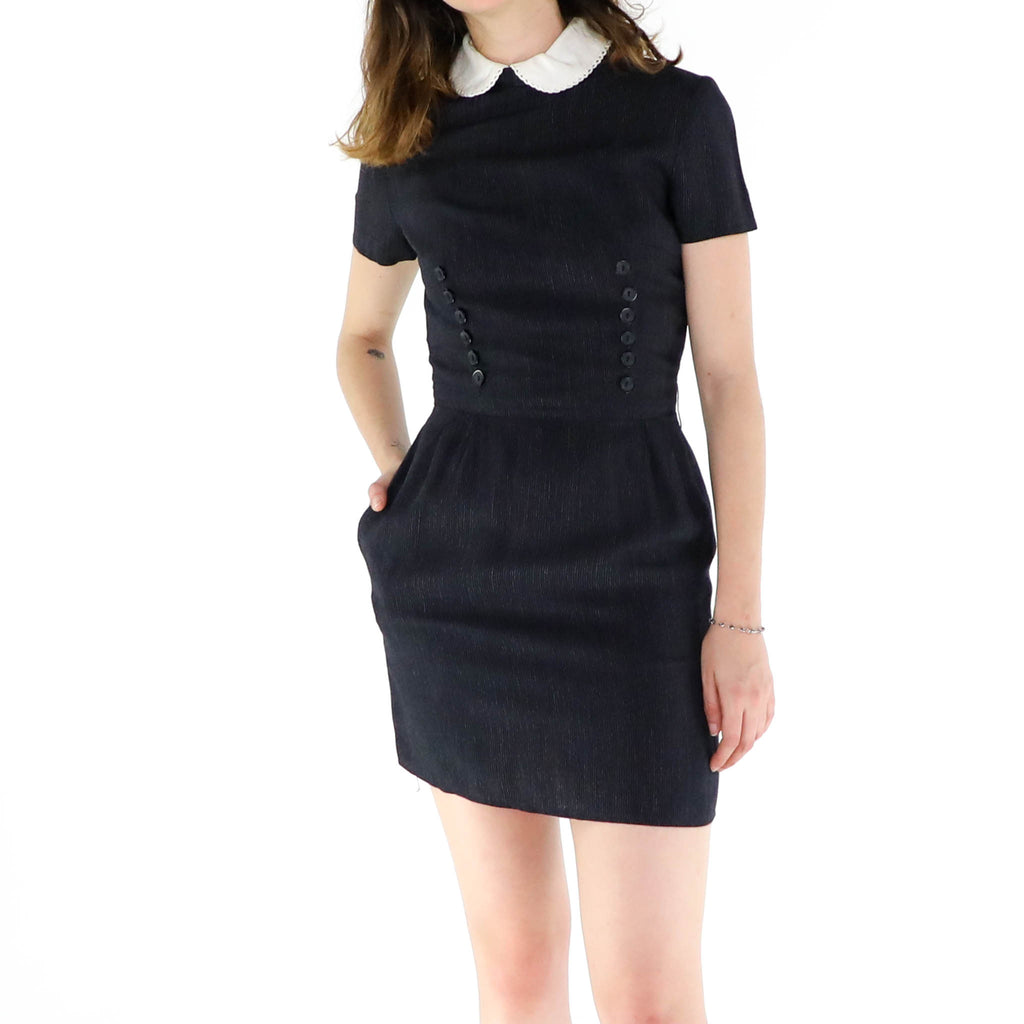 Black Preppy Dress