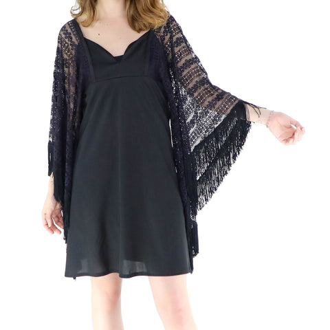 Black Mary Lace Dress