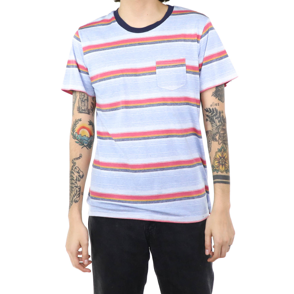Tricolor Striped T-Shirt