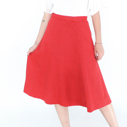 Black Dots on Dress Skirt
