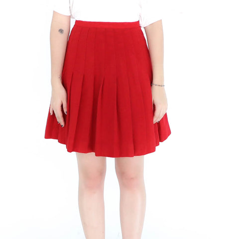 Red Tenis Skirt