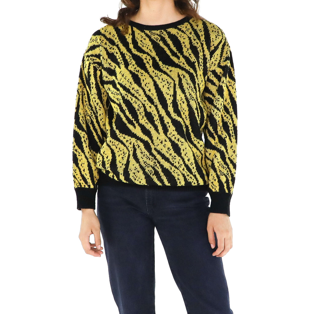 Yellow Tiger Sweater
